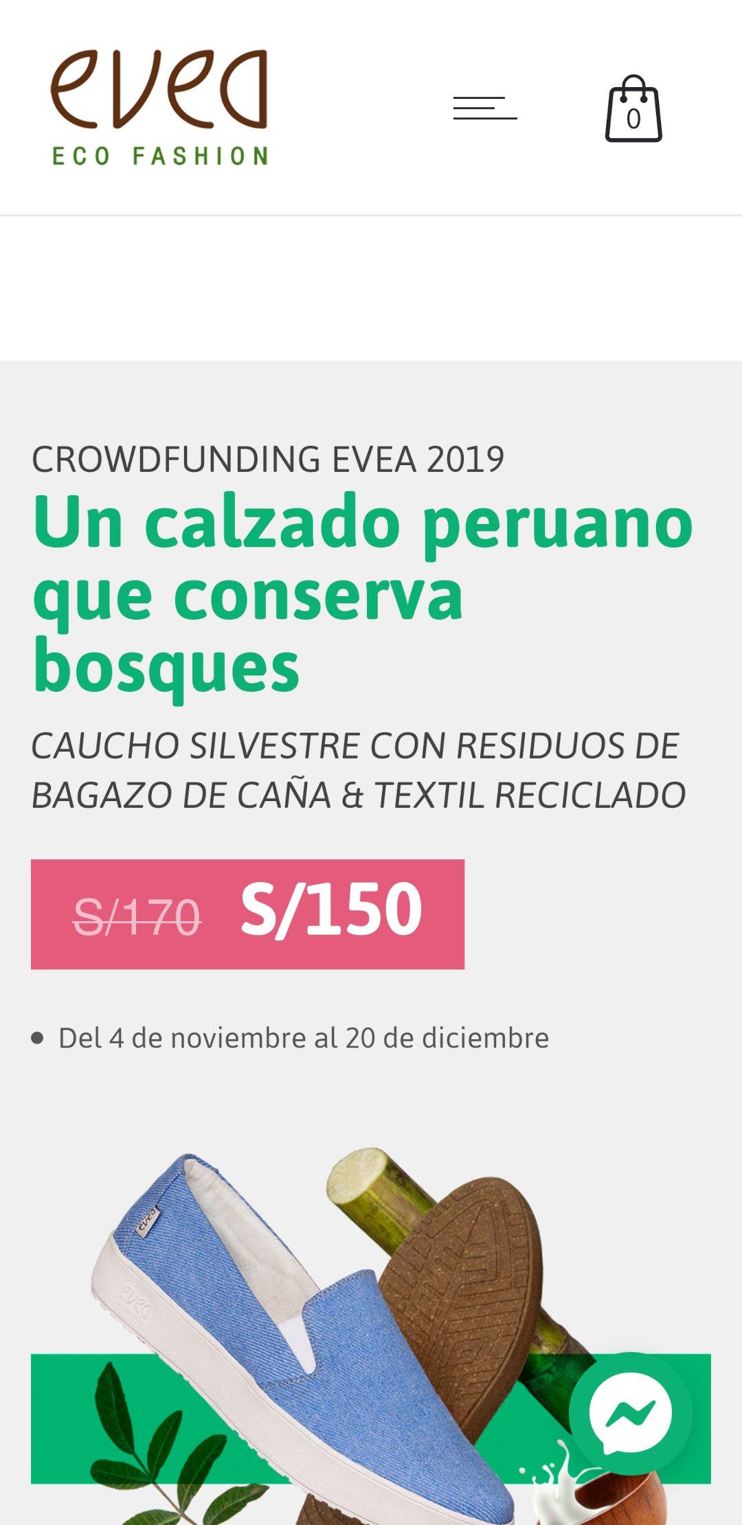 Crowdfunding Evea 2019